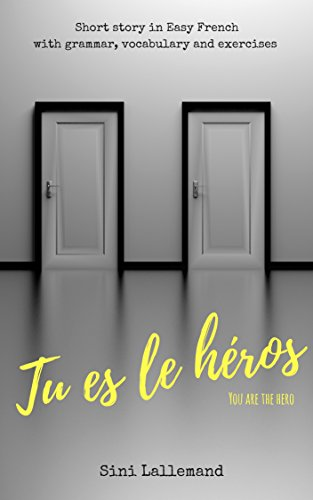 Couverture du livre Tu es le héros: Short story in Easy French with grammar, vocabulary and exercises