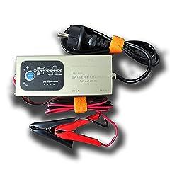 Auto Batterie Ladegerät automatisches 8-stufiges Lade- und Wartungsprogramm 12V