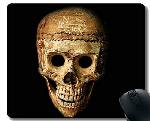 Yanteng Gaming Mouse Pad Benutzerdefinierte, Schädel-Halloween-Leute maskieren Dummy Gaming Mouse Pad