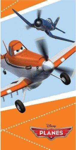 orange beach tuch flugzeuge 70 x 140 cm