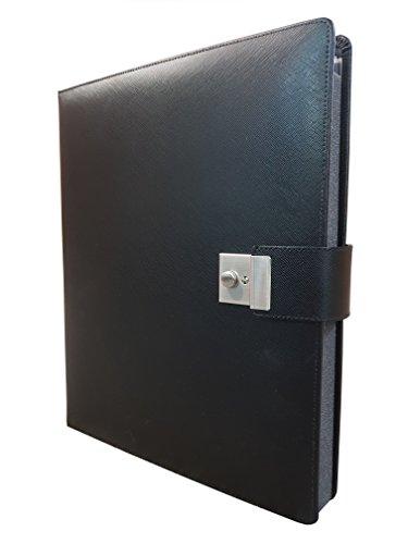 1 Akzent (ASL - Akzente in Leder A2323-1 Dokumentenmappe schwarz)