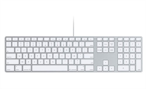 Apple MB110F Clavier avec pavé numérique pour Mac