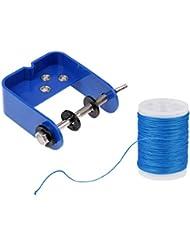 MagiDeal Outil De Service Corde D'arc Serveur + 110 M String Servant Fil Bleu Accessoire Tir à Arc