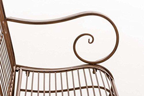 CLP Gartenbank PURUSHA aus lackiertem Eisen