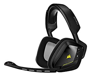 corsair void wireless dolby 7 1 gaming headset. Black Bedroom Furniture Sets. Home Design Ideas
