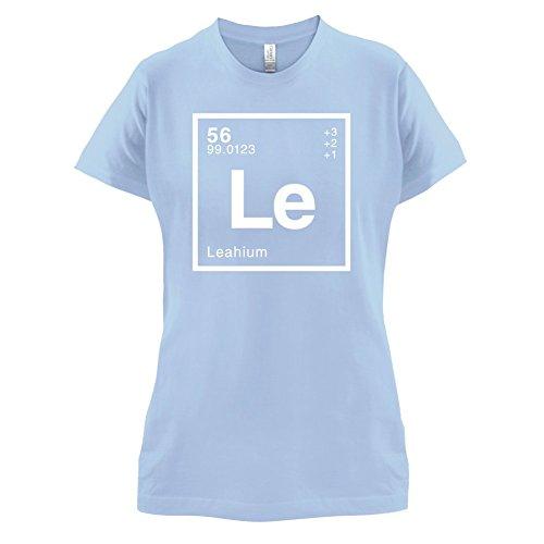 Leah Periodensystem - Damen T-Shirt - 14 Farben Himmelblau