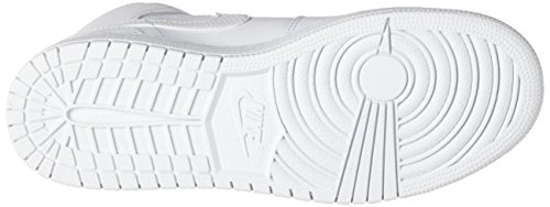 Nike Jungen 554725-110 Basketballschuhe Weiß (White/black/white)