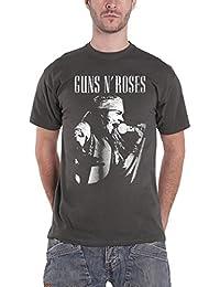 Guns N Roses T Shirt Axl Live Profile Logo offiziell Amplified Herren Nue