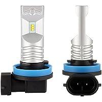 NIGHTEYE H11 LED Bombillas 6500K blanco 80W 1600LM LED lámpara con la viruta del Philips Faro Kit - 1 años de garantía [2 unidades]