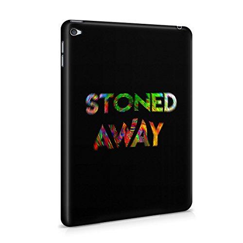420 Mary Jane Stoned Away Blurred Tie Dye Dünne Rückschale aus Hartplastik für iPad Mini 4 Tablet Hülle Schutzhülle Slim Fit Case Cover -