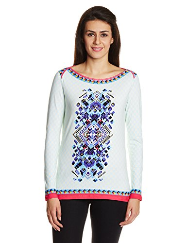 Indian By Manish Arora Women's Body Blouse T-shirt