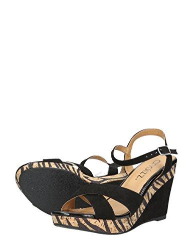 Zebra Xl Donne Zwart Asiatico Colore Choizz Formato Di Sandali Delle O1zWqwn4Pp
