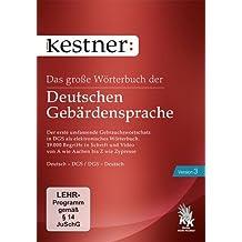 Das große Wörterbuch der Deutschen Gebärdensprache 3: Version 3 mit ca. 19.000 Gebärdenvideos der DGS. Deutsch - DGS / DGS - Deutsch