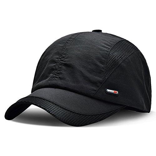 Hongtellor Cappellino da baseball estivo da Uomo Donna AllAperto Traspirante Tappo Sportivo Estate Cappello Di Sole