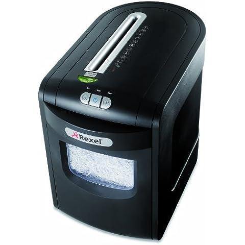 Rexel Mercury REM723 - Trituradora de papel de micro corte, 7 hojas, color negro