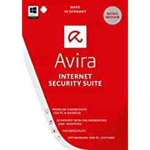 Avira Internet Security Suite 2017 [1 Gerät / 1 Jahr]