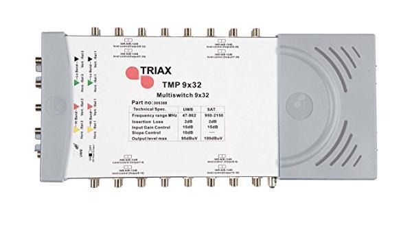 Triax Tmp9x24 Multischalter Mit 22khz Generator Nt Elektronik
