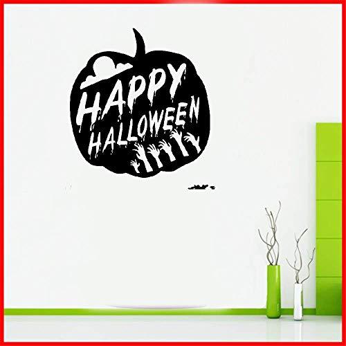 zimmer Happy Halloween Kürbis Party Aufkleber für Schlafzimmer Wohnzimmer Home Decor Home ()