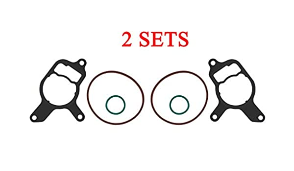 Beetle Rabbit 2.5L Vacuum Pump Seal Kit//rebuild Power Steering Seals compatible for Volkswagen Jetta and Audi TT RS,replace of 07K145215A 07K145100B 07K145100G 2PCS New Beetle Passat Golf