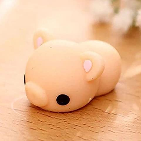 Maphissus Soft Animal Squeeze Stretch Compress Squishy Decompression Toy Art (PIG)