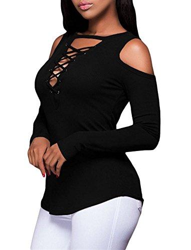 Cfanny - Chemisier - Femme Noir