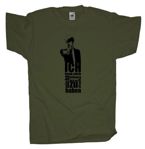 Ma2ca - Pulp Samuel Fiction - T-Shirt Olive