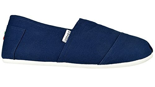 Di Baggio Men's 'Relax' Plain Slip On Canvas Pumps Espadrille Beach Shoes...