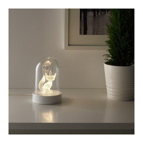 Unbekannt IKEA Strala LED Tischdekoration Fuchs Weihnachtsbeleuchtung