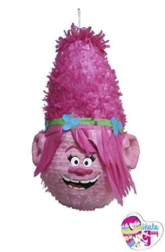 Trolls Piñata. Piñata Poppy. 3D