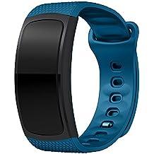 Correa de Relojes Cómoda y Durable, YpingLonk Silicona Suave para Samsung Gear Fit2 Pro Watch