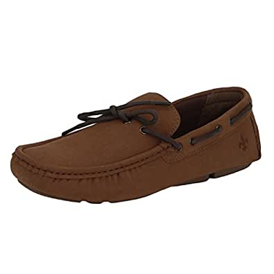 Bond Street by (Red Tape) Men's Tan Loafers - 6 UK/India (40 EU)