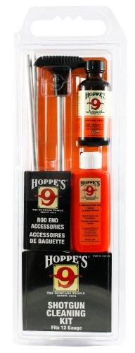 Hoppes Reinigungs-Kit für 12 Gauge mit Aluminum Rod, Clam -