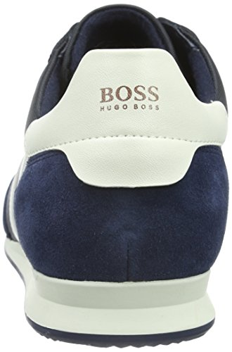 Boss Orange Orland Runn Nypl 10191238 01, Baskets Basses Homme Bleu (417)