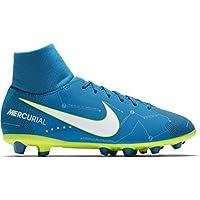 Nike Jr Mercurial Vctry6 DF NJR Agp Zapatillas, Niños, Azul, ...