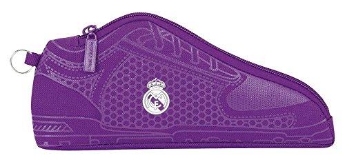 Real Madrid – Portatodo zapatilla, 24 x 10 x 2 (Safta 811677584)