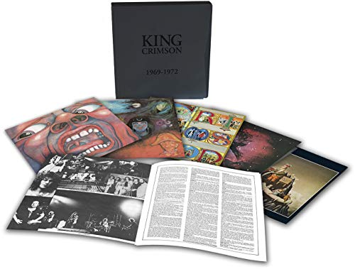 King Crimson / 1969-72 vinyl box | superdeluxeedition