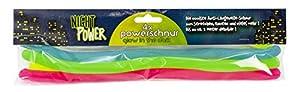 Trendhaus 404831 - Cordón de tensión (antiestrés, 4 Unidades), Color Verde, Azul, Rosa y Amarillo