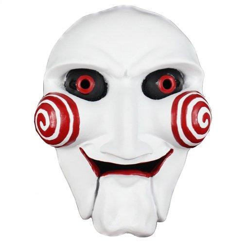 OMO Maske Halloween Sierra Kettensäge Killer Original Thema Maske Harz (Death Eater Halloween-make-up)