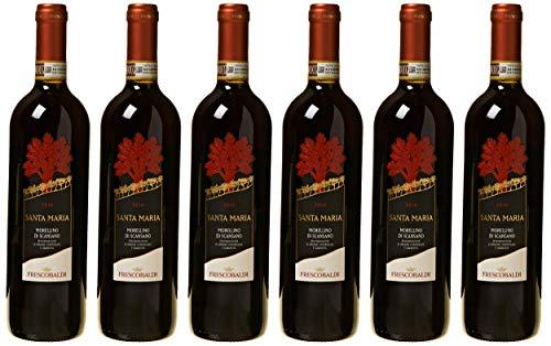 Marchesi De Frescobaldi Morellino di Scansano - 6 Bottiglie da 75 Cl