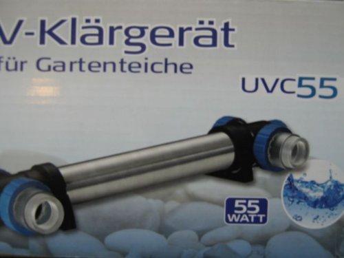 UVC Klärer , Wasserklärer, Lampe 55 W UVC