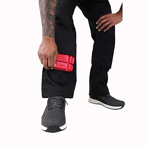Lee Cooper Men's Cargo Trouser – schwarz -30W/29S - 4
