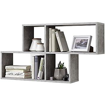 vicco wandregal 3er set 3 gr en deko w rfelregal holz. Black Bedroom Furniture Sets. Home Design Ideas