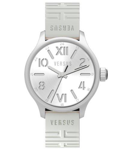 Versus 3C7040 0000 - Reloj analógico de Cuarzo para Hombre con Correa de plástico, Color Blanco