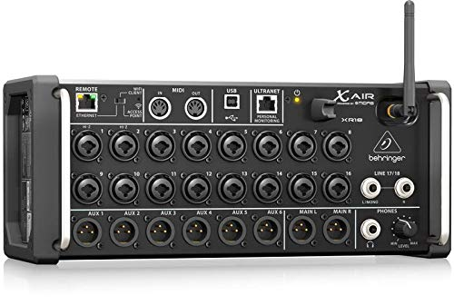 BEHRINGER XR18 X Air MIXER DIGITALE CON PREAMPS MIDAS PROFESSIONALE