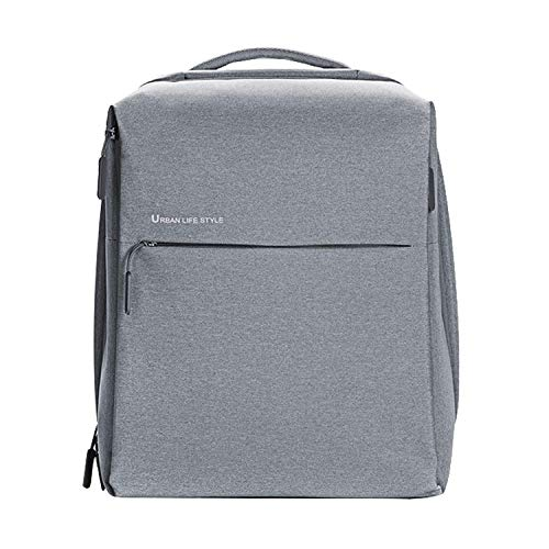 Xiaomi Mi City Poliéster Gris Mochila - Mochila para Portátiles y netbooks (Poliéster, Gris, Monótono, Unisex, 33 cm (13