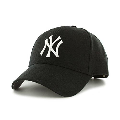 ´47 Cap MLB New York Yankees MVP, Black, OSFA, B-MVP17WBV-BK (Wolle Schwarz Herren Blend)