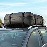 Car Roof Bag, Maso Waterproof Rooftop Cargo Carrier Heavy Duty for Extra Protection