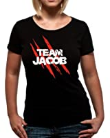 Twilight Team Jacob Official Womens T-Shirt (Black)