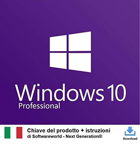 Chiave di attivazione di Windows 10 Pro a 32 bit e 64 bit + istruzioni da Softwareworld - Next Generation
