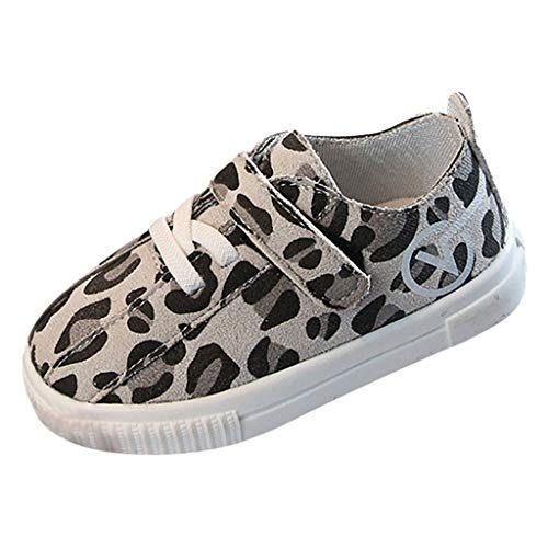 Scarpe per Neonato Hogan vovotrade Spring 2019 Bambini Toddler Baby Boys Leopard Print Sneaker Suola Morbida Scarpe Antiscivolo